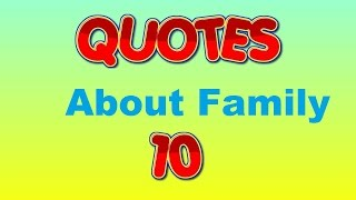 inspirational quotes about family