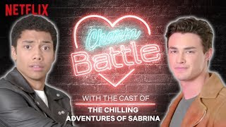 Can Nick Scratch Flirt? | Chilling Adventures Of Sabrina | Charm Battle | Netflix