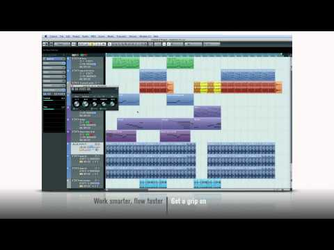 Cubase 6 – New Features 4 – Work smarter, flow faster