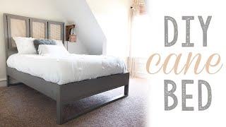 DIY Cane Bed