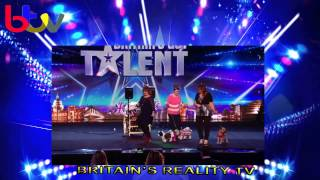 UK Doggy Disco style it out - Britain's Got Talent 2014