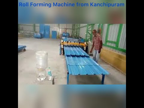 Colorful Metal Tile Making Machine
