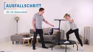 Trainingsprogramm für Anfänger auf dem cardiostrong Fitness Trampolin