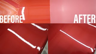 How To Sand ClearCoat Safely - Orange Peel Removal