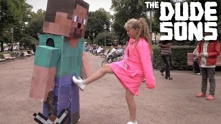 Minecraft In Real Life Pranks - Part 1