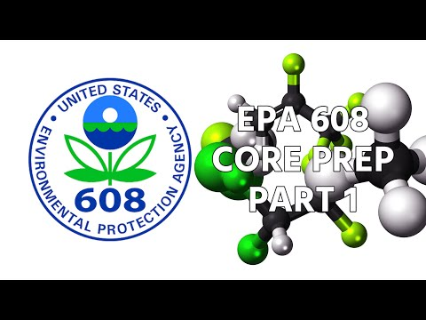 EPA 608 Core Prep - Part 1 - YouTube