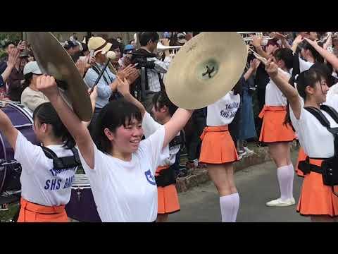 京都橘高等学校吹奏楽部 2019ブルーメの丘パレード 【午前】Kyoto Tachibana SHS Band