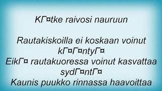Apulanta - Faarao Lyrics