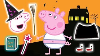 Peppa Pig - Halloween Special ???? - Halloween Dress up - Learning with Peppa Pig
