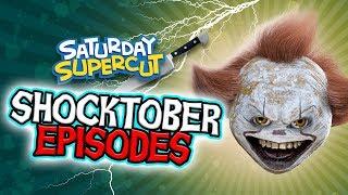 Annoying Orange - Best Shocktober Episodes (Saturday Supercut)