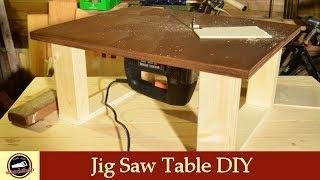 Homemade Jigsaw Table DIY   How To Buid One   #14