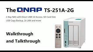 Qnap Desktop NAS TS-251A-4G 2-Bay, RAID 0/1 (4GB RAM) + USB QuickAccess