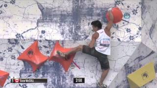 Boulder World Cup 2015 - Hard Moves Part 2 by Psyched Bouldering