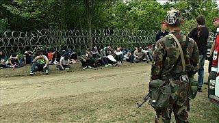Венгрия начала аресты беженцев за пересечение границы (новости)