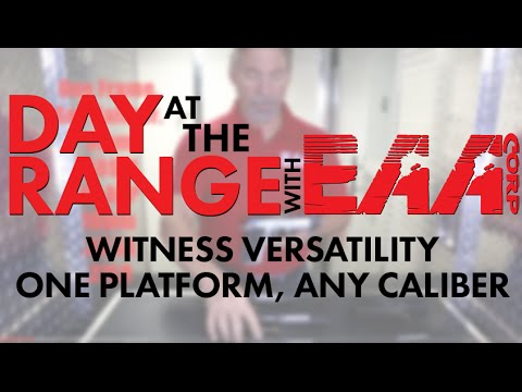 DATR: The incredible versatility of EAA WITNESS Pistols. One Platform, Any Caliber.