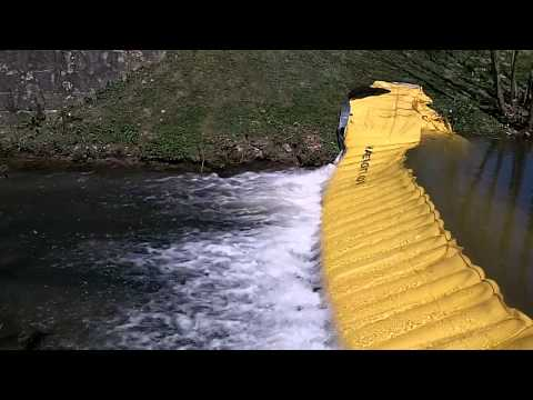 The wold leader of flexible and self-locking water dams