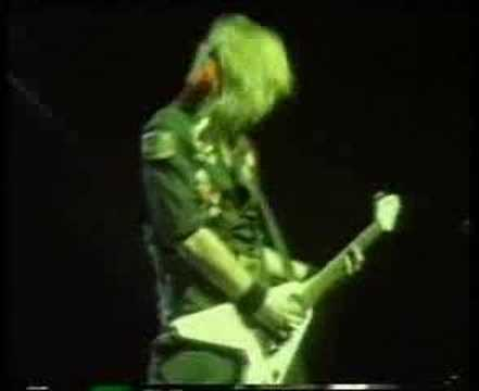 Accept - Fast as a Shark (Live in Osaka, Japan, 1985) online metal music video by ACCEPT
