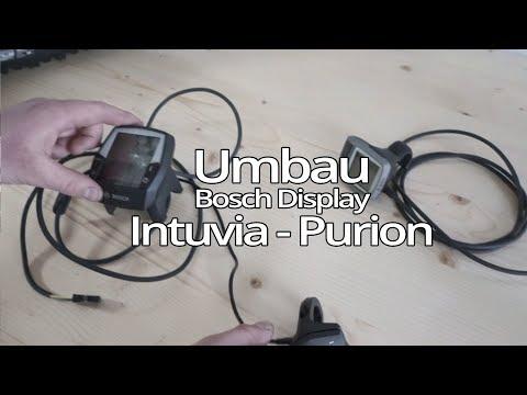 Umbau Bosch Intuvia auf Bosch Purion Display