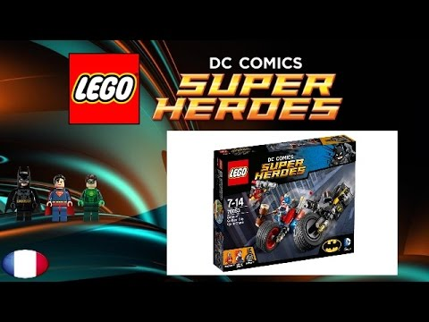 Vidéo LEGO DC Comics Super Heroes 76053 : Batman : La poursuite à Gotham City