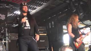 DeathRiders - Death From Above Live @ Headbangers Open Air 2014