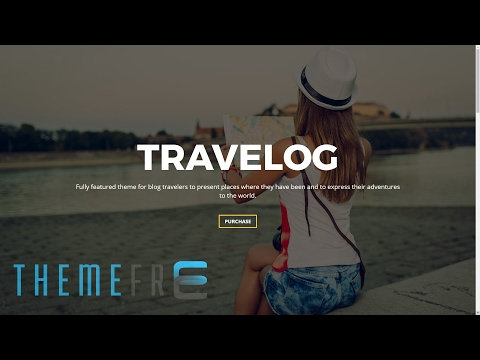 TRAVELOG Wordpress Theme For Travelers, Trip, Journal, Diary Mp3