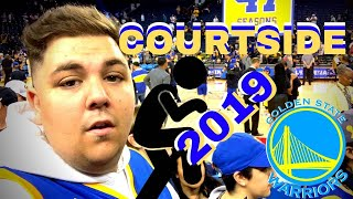 SNEAKING *COURTSIDE* TO EVERY GOLDEN STATE WARRIOR GAME IN 2019
