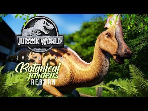 SECRET GARDENS AND HIDDEN DINOS | Botanical Gardens Reborn (Jurassic World: Evolution)