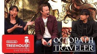 Octopath Traveler Gameplay Demo - Nintendo Treehouse: Live   E3 2018