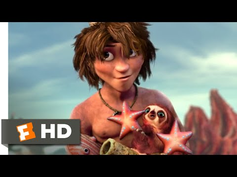 The Croods (2013) - Try This On For Size Scene (6/10)   Movieclips