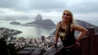 Doro Pesch in Rio de Janeiro, Brazil
