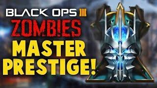 Black Ops 3 ZOMBIES - PRESTIGE MASTER! Zombie Kills, Stats & MORE - ZOMBIE PRESTIGE MASTER w/ Dalek!