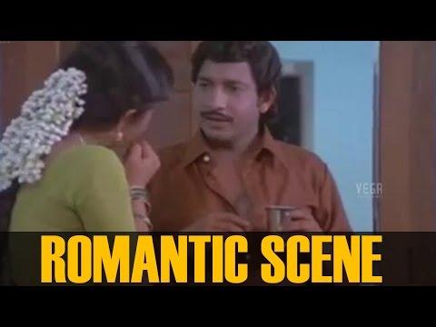 Nedumudi Venu and Poornima Jayaram Romantic scene ||  Kelkatha Shabdam