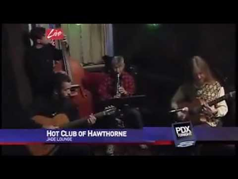 the Hot Club of Hawthorne on live TV, with interview