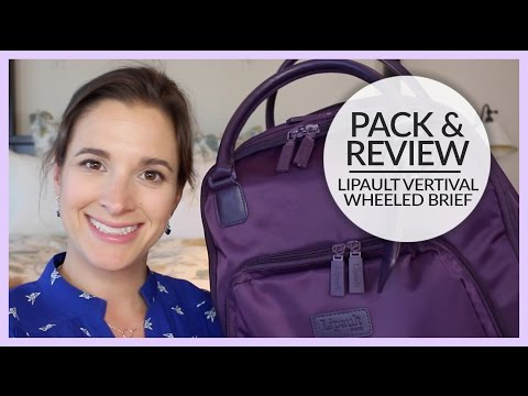 Pack & Review | Lipault Vertical Wheeled Brief