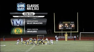GameDay Classic: Middletown at New London football (Nov. 8, 2013)