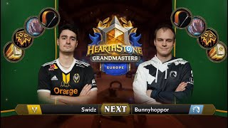Swidz vs Bunnyhoppor - Finals - Hearthstone Grandmasters Europe 2020 Season 1 - Week 3