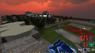 preview picture of video 'IQRA DEATH ARENA GAME IQRA UNIVERSITY ISLAMABAD PAKISTAN 3D Q3 MAP LEVEL DESIGN BY SAAD'