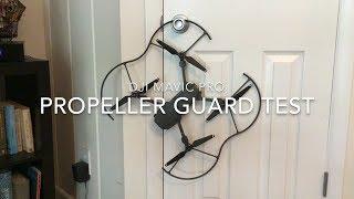 DJI Mavic Pro Propeller Guard Test