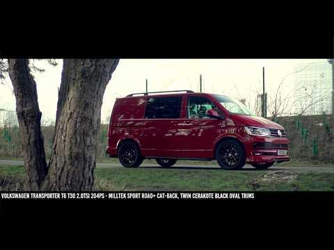 Volkswagen  Transpoter T6 Caravelle Минивен класса M - рекламное видео 3