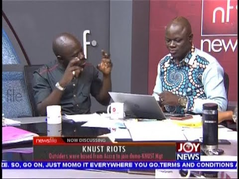 KNUST Riots; We 'had it up to our neck'; authorities denied us dialogue - SRC (27-10-18)
