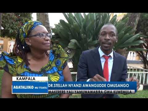 Dr Stella Nyanzi awangudde omusango