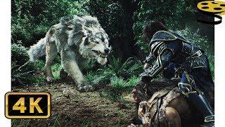 Битва в Лесу. Орки против Людей   Варкрафт   4K ULTRA HD