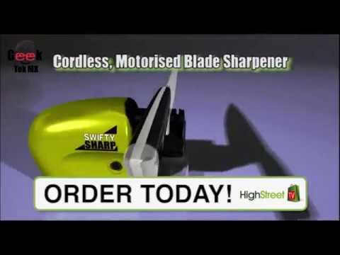 Afilador De Cuchillos Electrico Swifty Sharp
