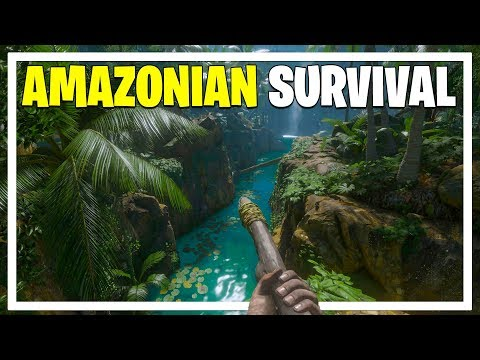 GREEN HELL - Amazon Rainforest Survival 1.0 Release - Story Mode (Green Hell Gameplay Part 1)
