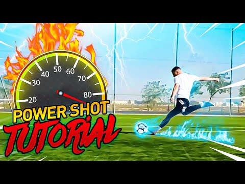 INSANE SHOT POWER TUTORIAL | INCREASE SHOT POWER ⚡️🎯