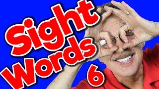 New Sight Words 6 | Sight Words Kindergarten | High Frequency Words | Jump Out Words | Jack Hartmann