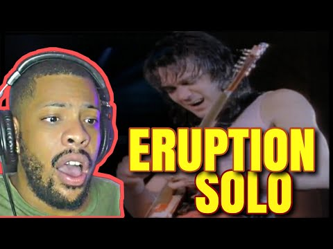 FIRST TIME HEARING Van Halen Eruption Guitar Solo  Reaction! INCREDIBLE!