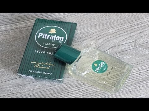 Rasur - Pur ! After Shave Pitralon Vorstellung