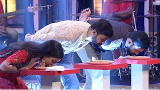 Onnum Onnum Moonu S4   'Priyappettaval  team' is so fond of Mixture...?   Mazhavil Manorama
