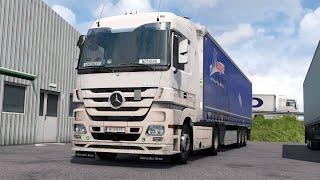 Ets2 1.37 Ds 2.46 Mercedes Actros Mp3 Vienna - Vásárosnamény